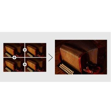 Funzione di messa a fuoco con ingrandimento e peaking