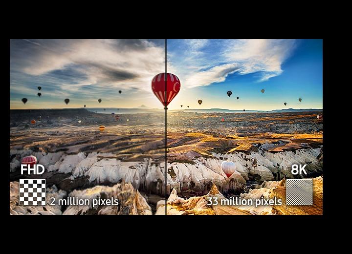 33 milioni di pixel per una risoluzione mozzafiato