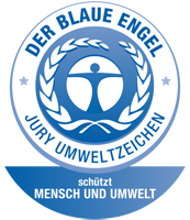 is a German certification for products and services that have environmentally friendly aspects.