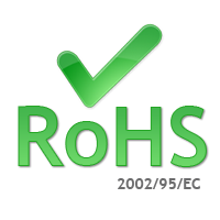 The electrical or electronic product contains little or no Hazardous Substances (RoHS). Any RoHS compliant product is tested for the presence of Lead (Pb), Cadmium (Cd), Mercury (Hg), Hexavalent chromium (Hex-Cr), Polybrominated biphenyls (PBB), and Polybrominated diphenyl ethers (PBDE). PBB and PBDE are flame retardants used in several plastics. For Cadmium and Hexavalent chromium, there must be less than 0.01% of the substance by weight. For Lead, PBB, and PBDE, there must be no more than 0.1% of the material. Any RoHS compliant component must have 100 ppm or less of mercury and the mercury must not have been intentionally added to the component.