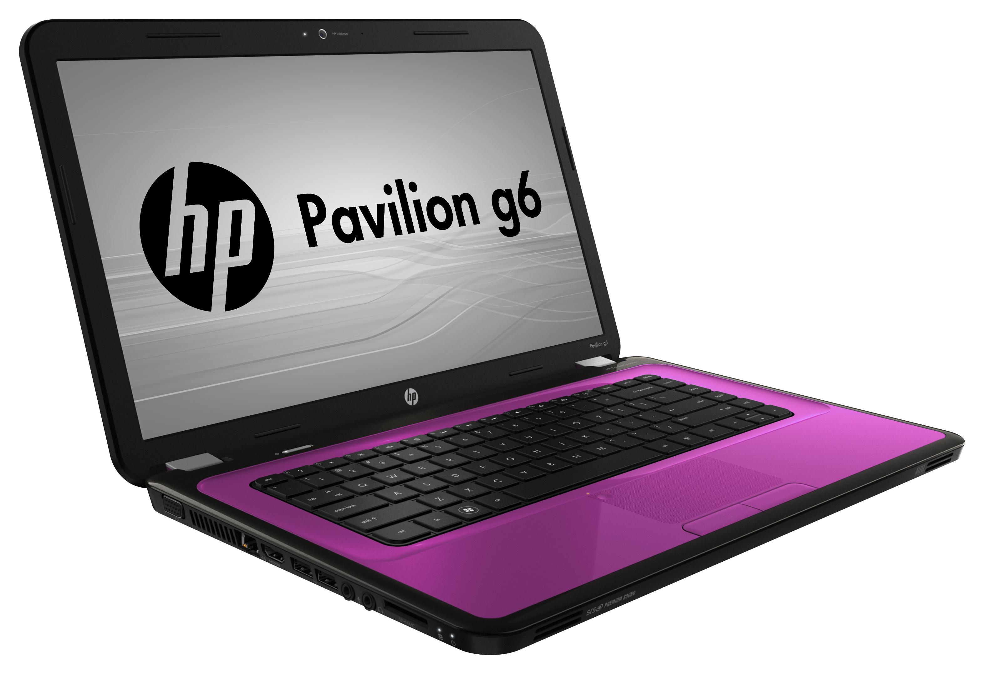 specs hp pavilion g6 1327sa ddr3 sdram notebook 39 6 cm 15 6 1366 x 768 pixels amd e 4 gb 500 gb hdd windows 7 home premium pink notebooks a8m64ea
