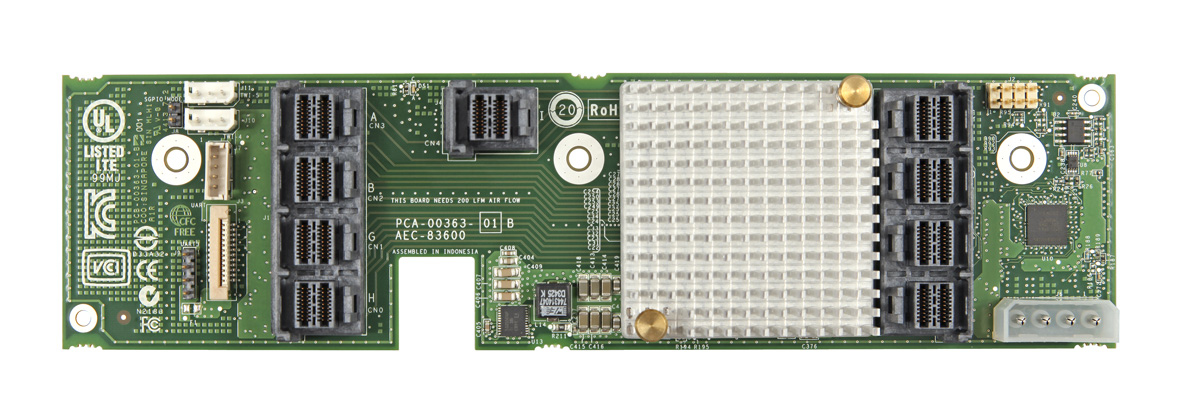 INTEL RES3TV360 12Gb/s Expander Card Truchas Valley