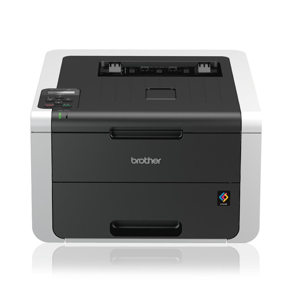BROTHER HL-3172CDW color LED-Drucker 22ppm 250Blatt Papierkassette Duplex