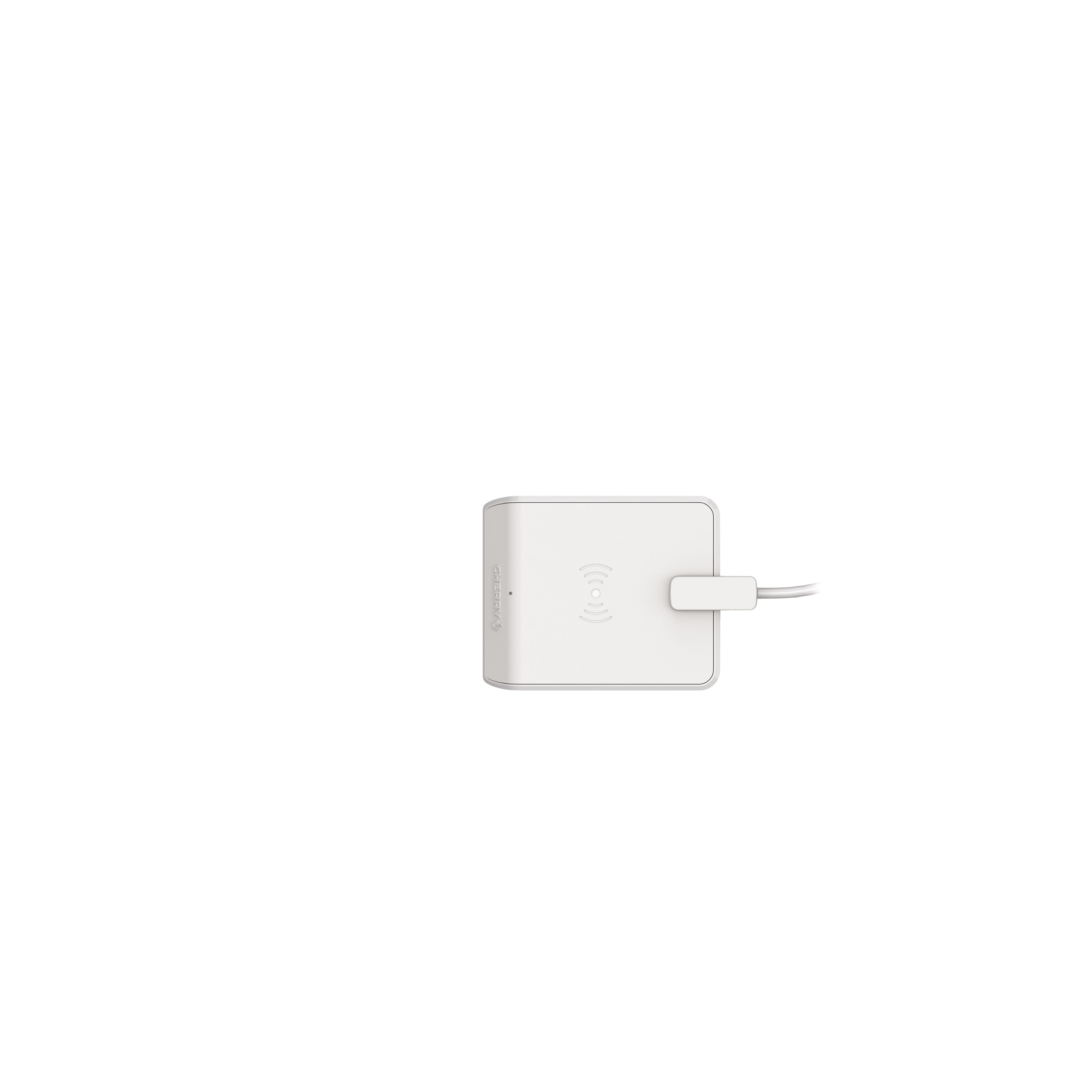 CHERRY SmartCardTerminal TC 1200 USB Klasse1 cardreader grey