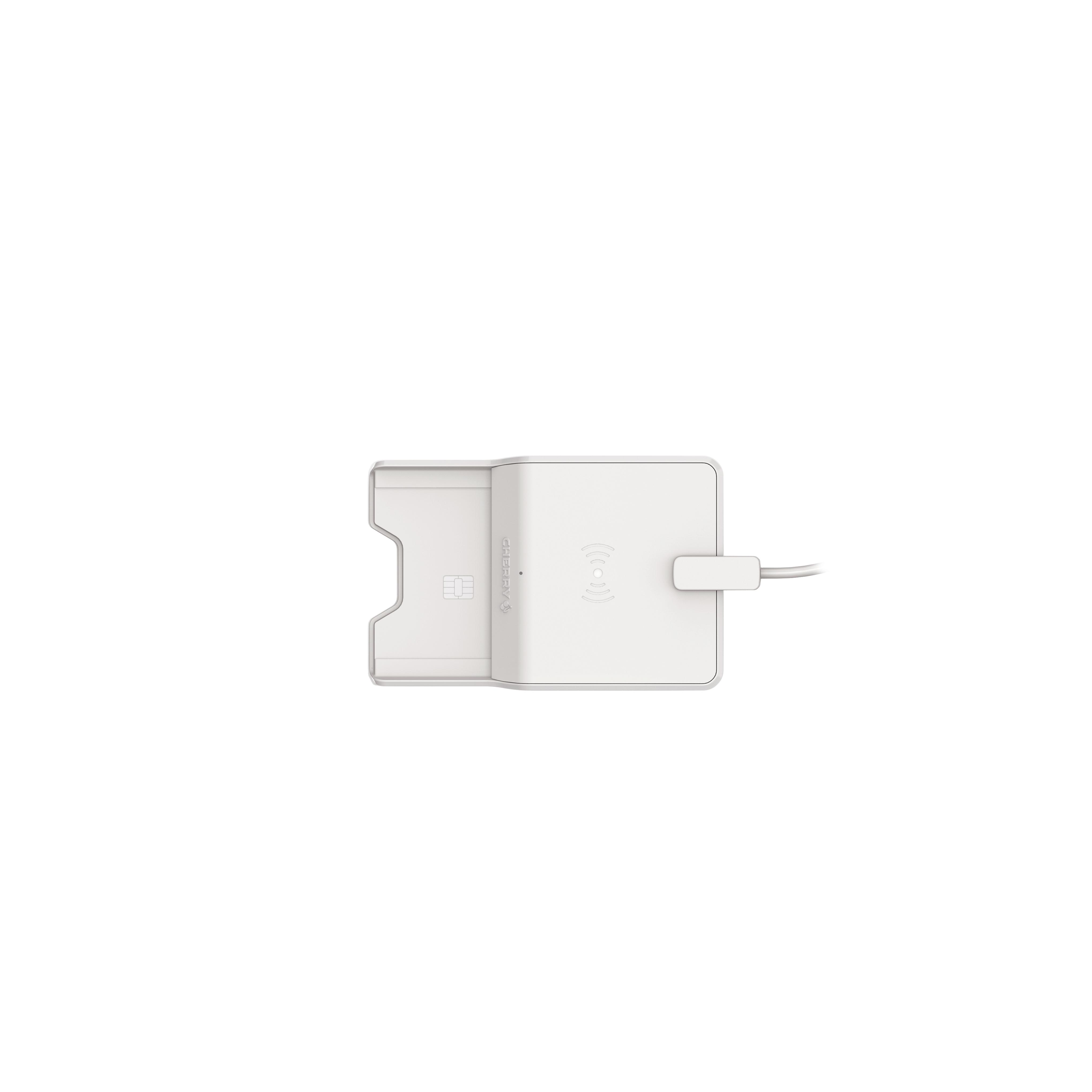 CHERRY SmartCardTerminal TC 1300 USB Klasse1 cardreader grey
