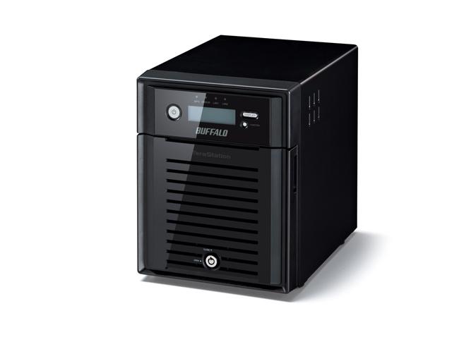 BUFFALO TeraStation 5400 WD Red HDD 12TB NAS & iSCSI 4x3TB 2xGigabit RAID 0/1/5/6/10