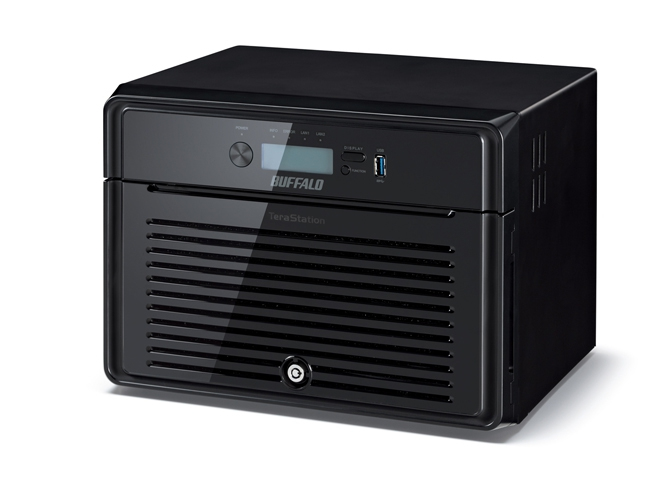 BUFFALO TeraStation 5800 WD Red HDD 8TB NAS & iSCSI 8x1TB 2xGigabit RAID 0/1/5/6/10/50/51/60/61