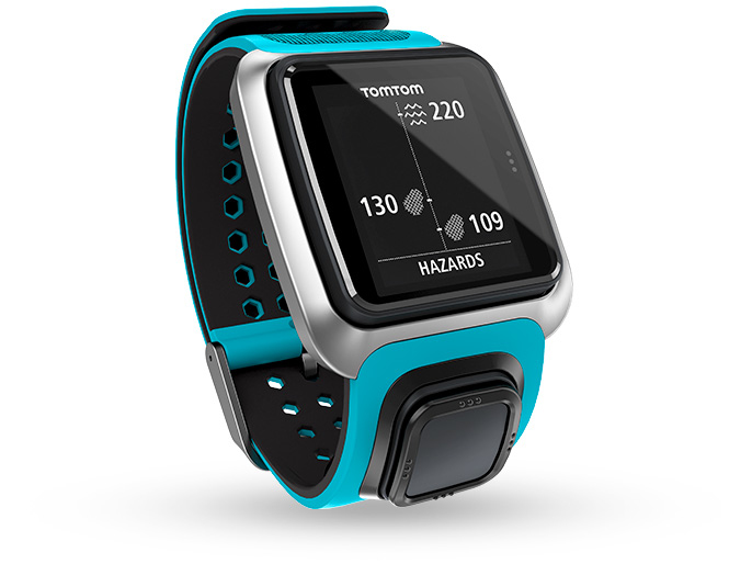 TOMTOM GOLFER GPS Uhr blau