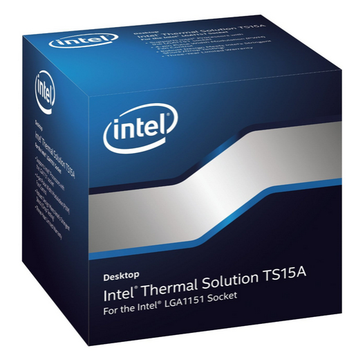 INTEL BXTS15A Thermal Solution TS15A for Intel Core processor families with LGA 1151 socket