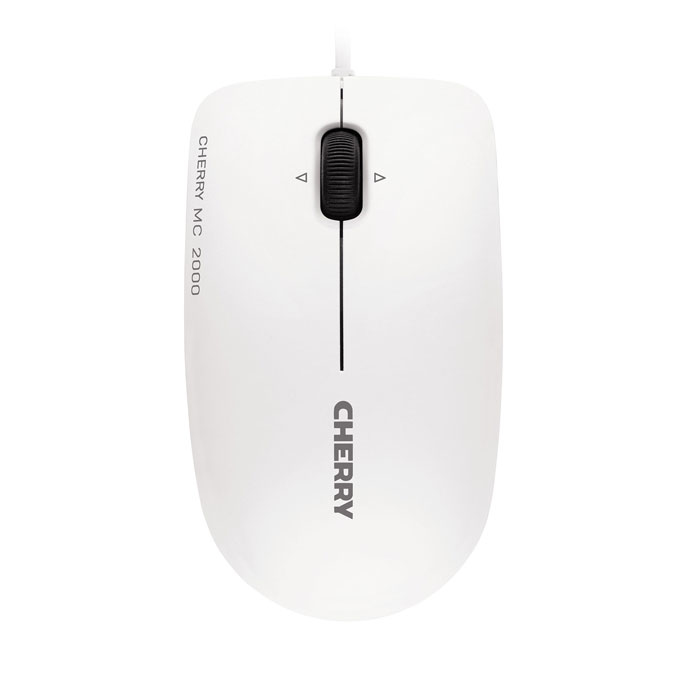 CHERRY MC 2000 corded Mouse USB pale grey