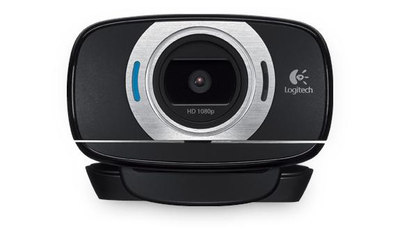 LOGITECH C615 HD Webcam USB schwarz