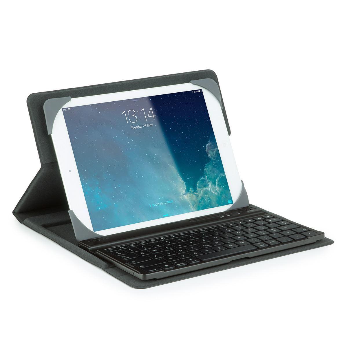 TARGUS 25,4cm 10Zoll Universal Tablet Keyboard Case deutsches Layout