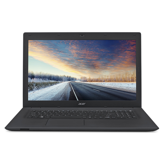 ACER TravelMate P278-M-59LP Core i5-6200U 43,9cm 17,3Zoll Full-HD 1x4GB DDR3 500GB+128GB SSD W7Pro/W10Pro 64Bit Intel HD 520 DVD-SM
