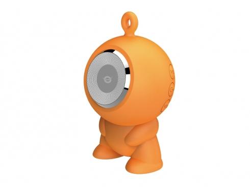 Conceptronic Wireless waterproof Bluetooth Speaker orange