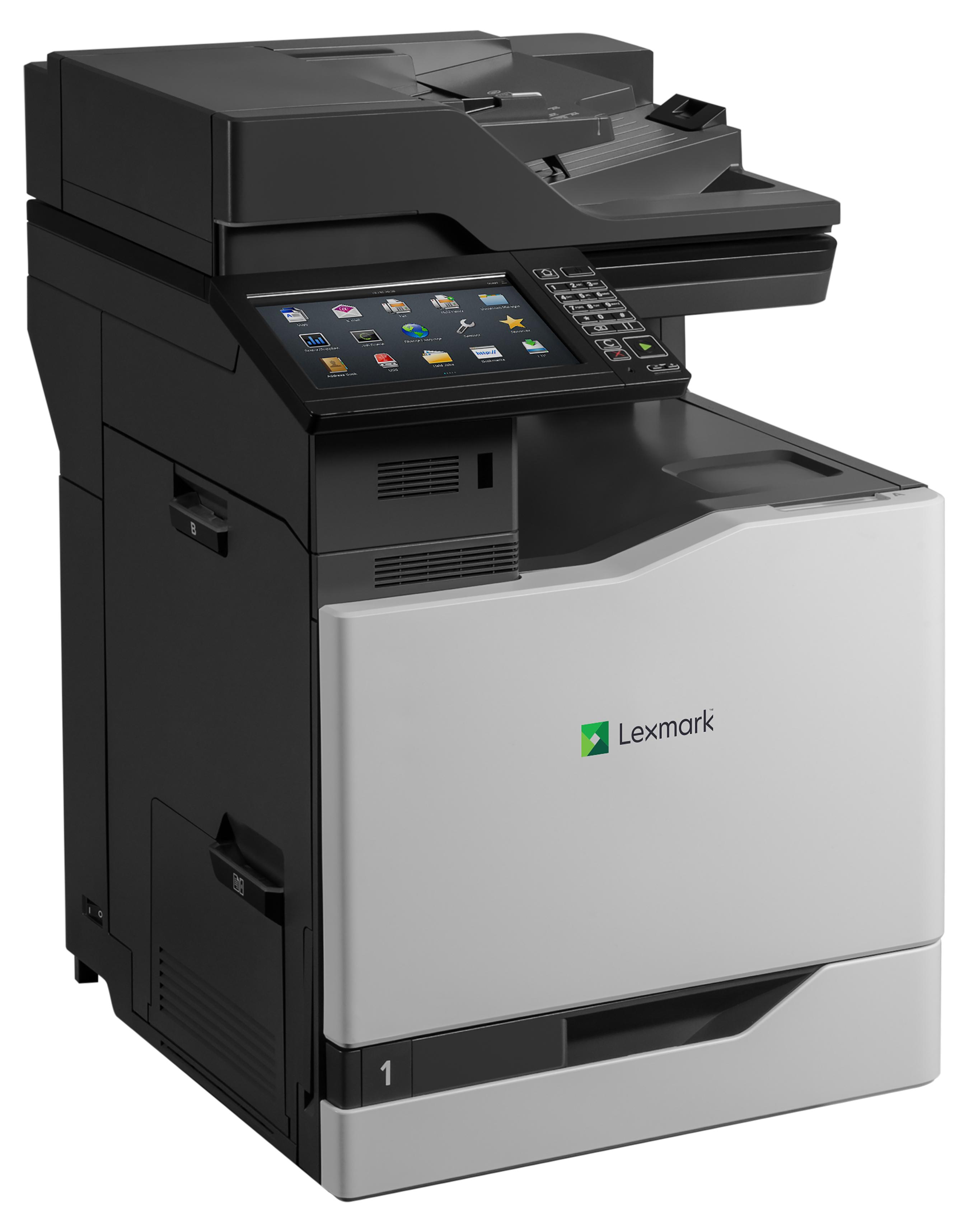 LEXMARK CX825dte MFP color A4 Laserdrucker 52ppm Duplex print scan copy fax Duplex