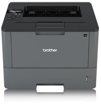 BROTHER HL-L5000D A4 monochrom USB Laserdrucker 40ppm  250 Blatt + 50 Blatt MF Papierzufuhr Duplex