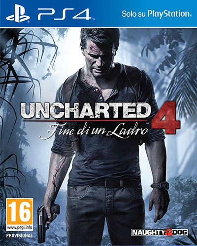 PS4 UNCHARTED 4 LA FINEDI UN LADRO