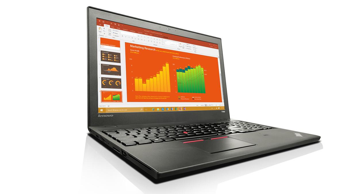 LENOVO ThinkPad T560 i7-6600U 39,6cm 15,6Zoll FHD++ 8GB 256GB SSD W7P64/W10P64-Coupon UMTS NVIDIA Geforce940MX-2GB Cam FPR Topseller