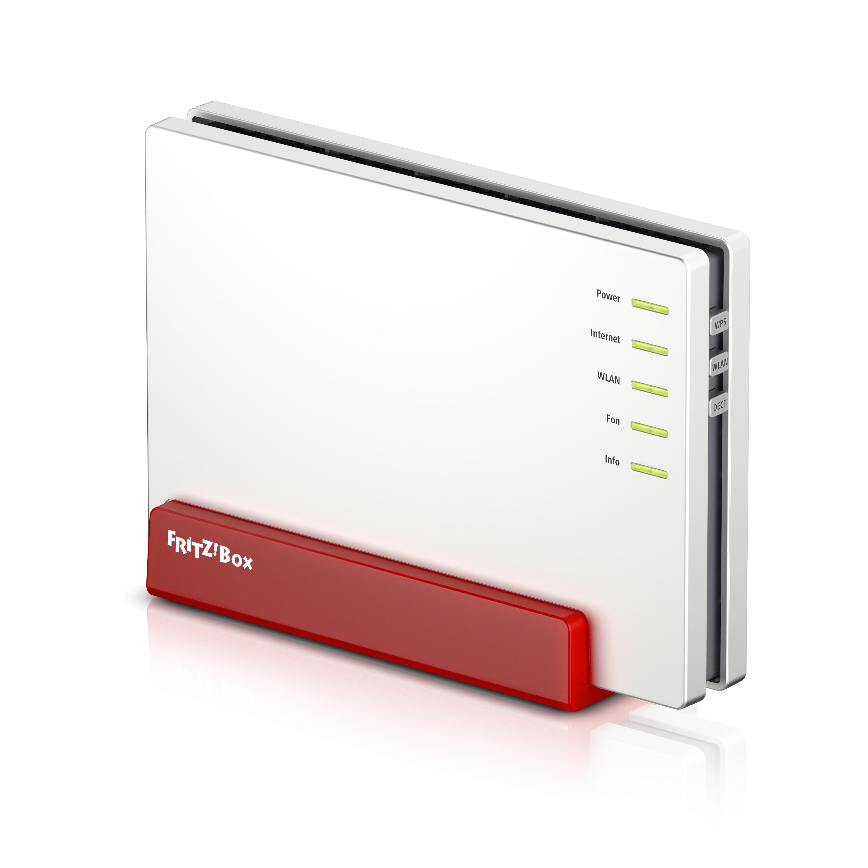 AVM FRITZ!Box 7580 Dual-Band (2,4 GHz/5 GHz) Gigabit Ethernet Weiß WLAN-Router