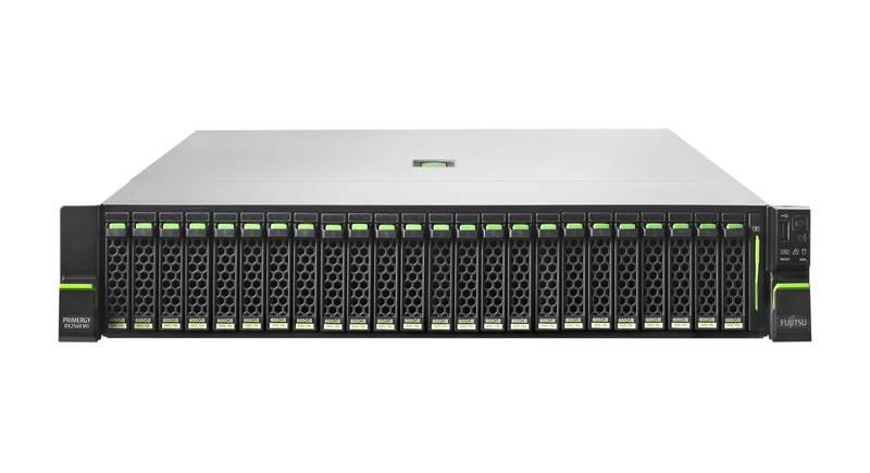 FUJITSU PRIMERGY RX2540 M2 Xeon E5-2620V4 1x16GB DDR4 R ECC w/o SFF HDD DVD-RW RAID 12G EP400i 1GB 4X1GB IF CARD RMK 1xSV 450W 3JVOS