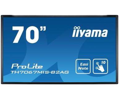 IIYAMA ProLite TH7067MIS-B2AG 176,6cm 69,5Zoll infrarot multitouch antiglare 5ms 350cd/m² 3xVGA DVI 3xHDMI USB2 USB3.0 Lautsprecher