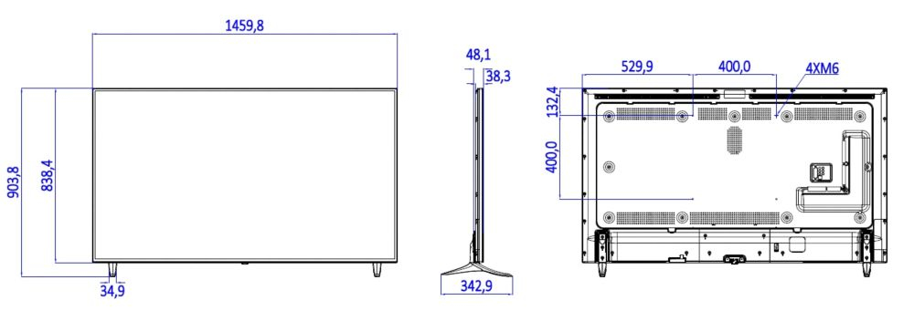 Philips 65HFL2859T