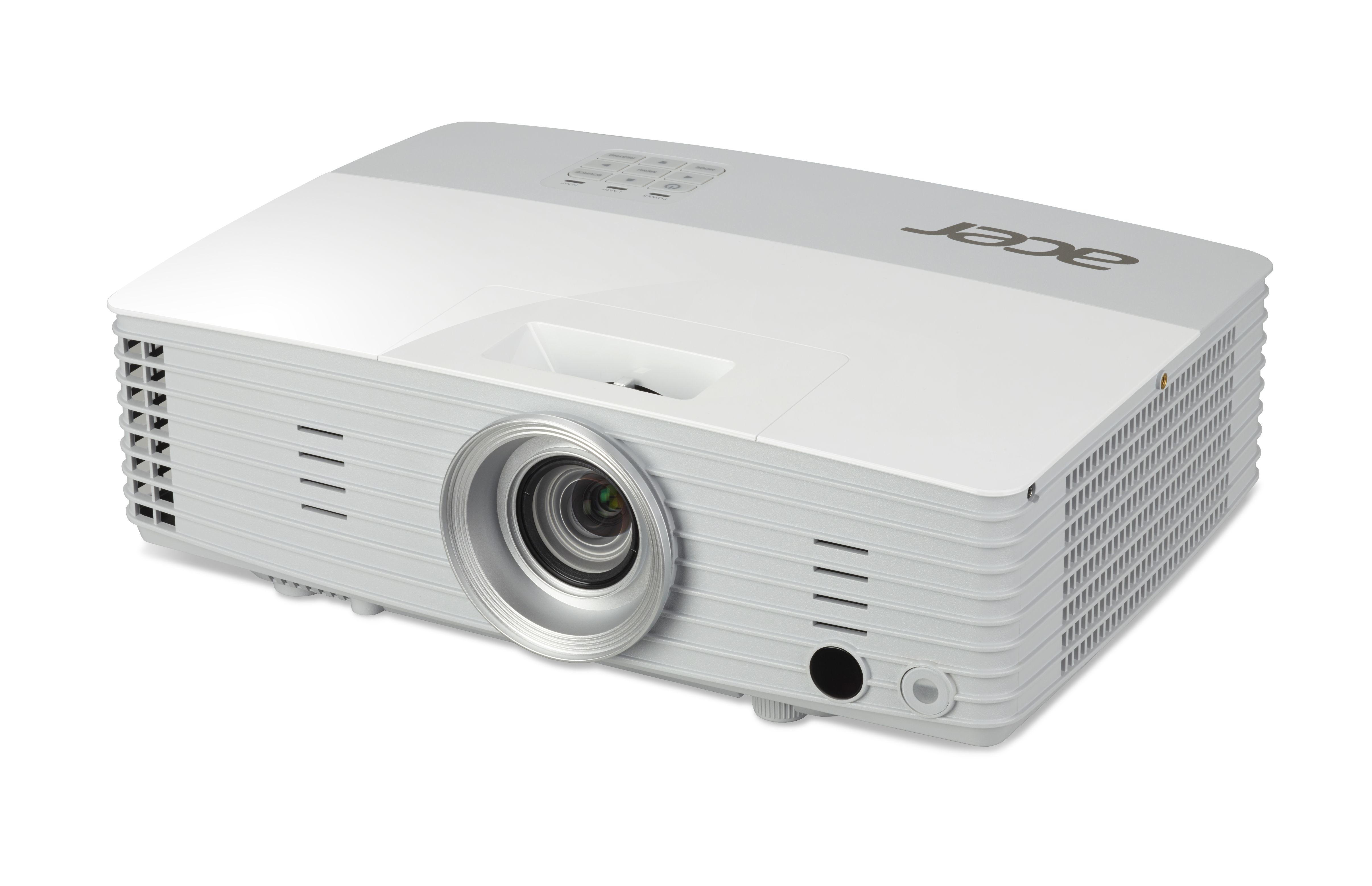 ACER P5627 DLP Projektor 4000 ANSI Lumen WUXGA 1920x1200 3D ready 20.000:1 2x HDMI/MHL 2x D-Sub RJ45 Composite Audio weiss