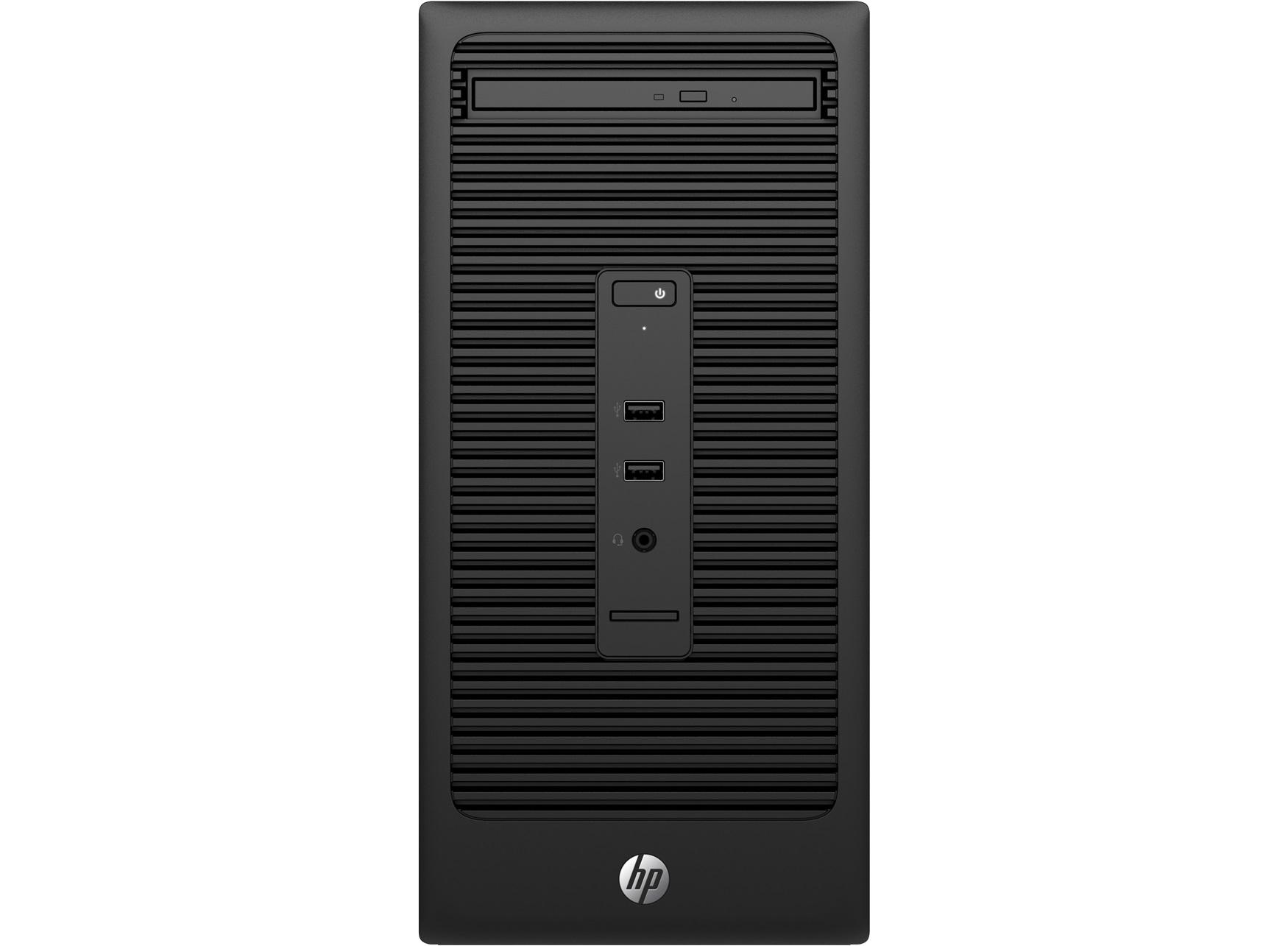 HP 280 G2 MT Intel Pentium G4400 4GB 500GB/HDD DVDRW W10PRO 64bit 1J Gar. (DE)