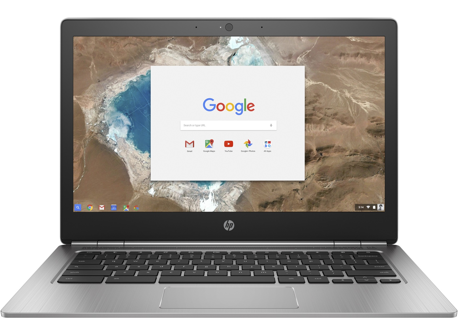 HP ChromeBook 13 G1 Intel CORE M5-6Y57 33,7cm 13,3Zoll QHD+ BV UMA 8GB 32GB/eMMC WLAN BT Chrome64 1J. Gar. (DE)
