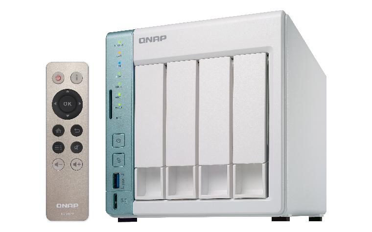 QNAP TS-451 4-Bay NAS 2GB DDR3L RAM Intel Celeron N3060 SATA 6Gb/s 2 Giga LAN HDMI out 2xUSB3.0 2xUSB2.0