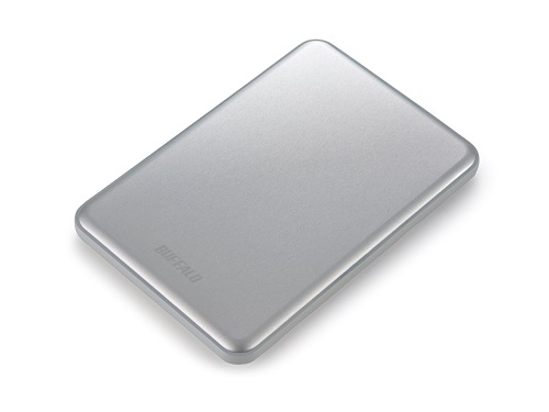 BUFFALO MiniStation Slim 8.8mm thick 1TB 6,4cm 2,5Zoll Mac-Formatted USB3.0 Silber