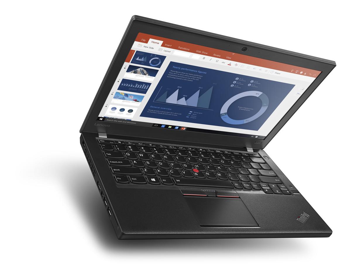LENOVO ThinkPad X260 i7-6500U 31,8cm 12,5Zoll FHD 8GB DDR4 512GB SSD W10P64 4G LTE IntelHD 520 FPR Cam BT Topseller