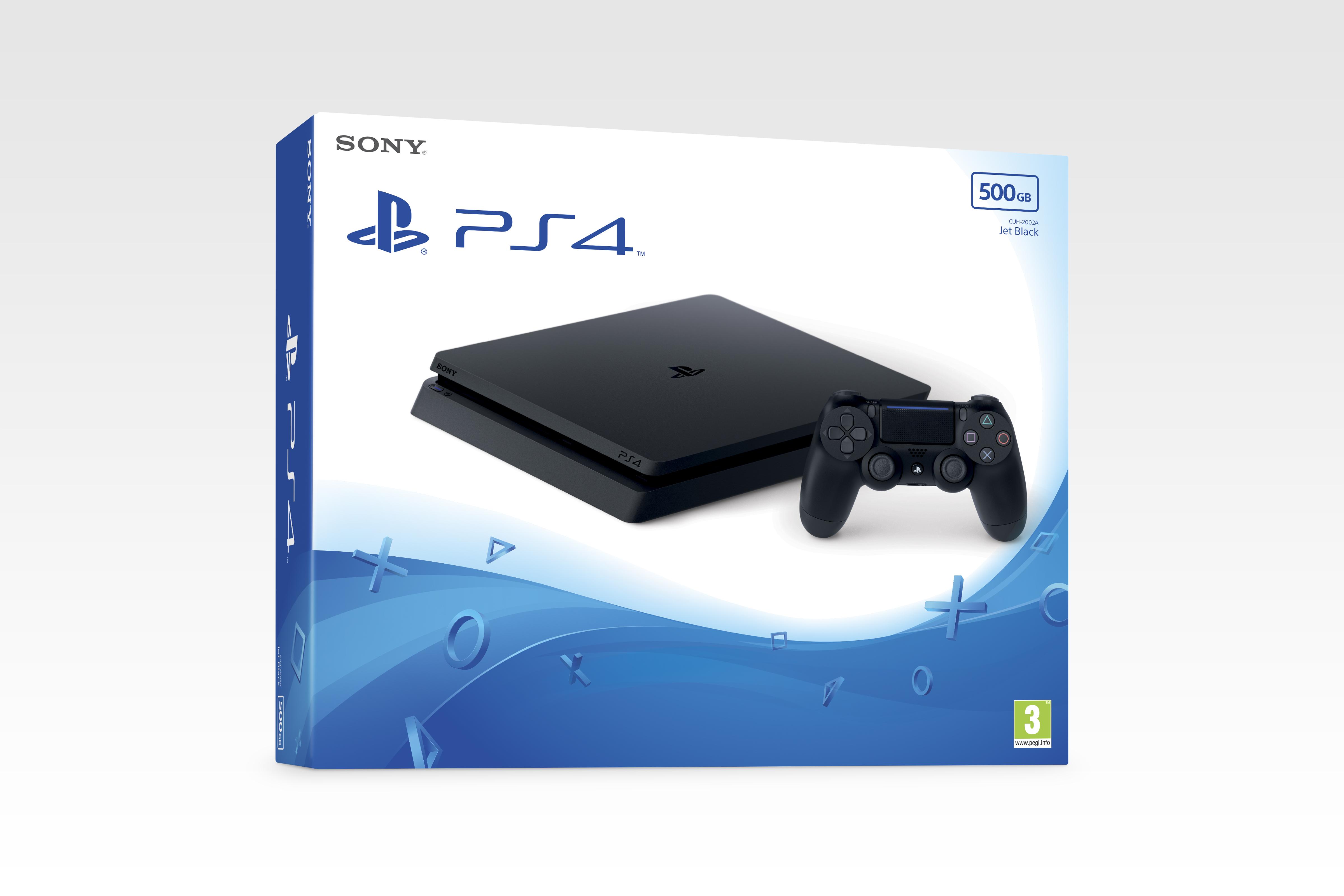 PS4 500GB D CHASSIS BLACK EU