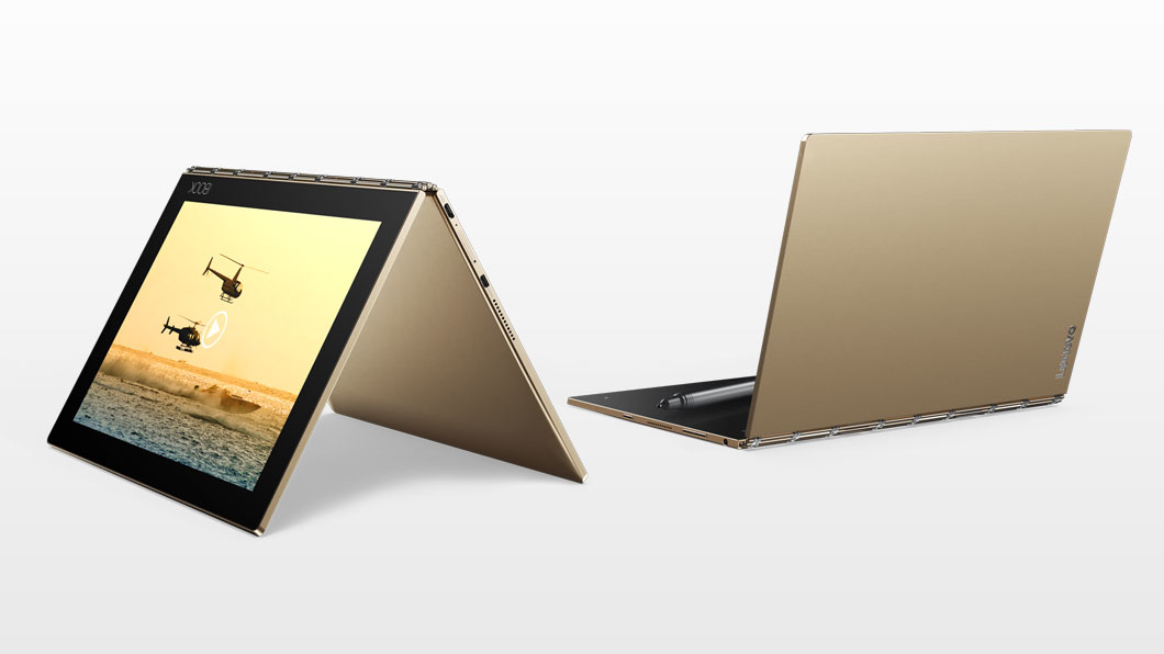 LENOVO IdeaPad Yogabook YB1-X90L 25,7cm 10,1Zoll 4GB 64GB Android 6.0 BT 4.0 Cam Projekt Cyberport (P)