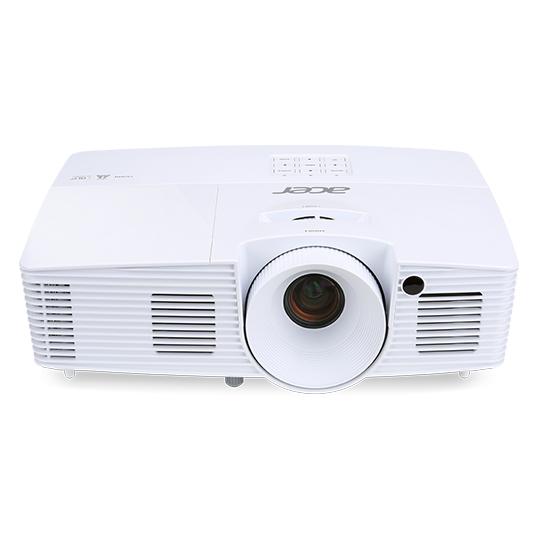 ACER B4B X127H DLP Projektor 3600 ANSI Lumen XGA 1.024x768 3D ready 20.000:1 HDMI 1.4a VGA Audio mini USB Typ B