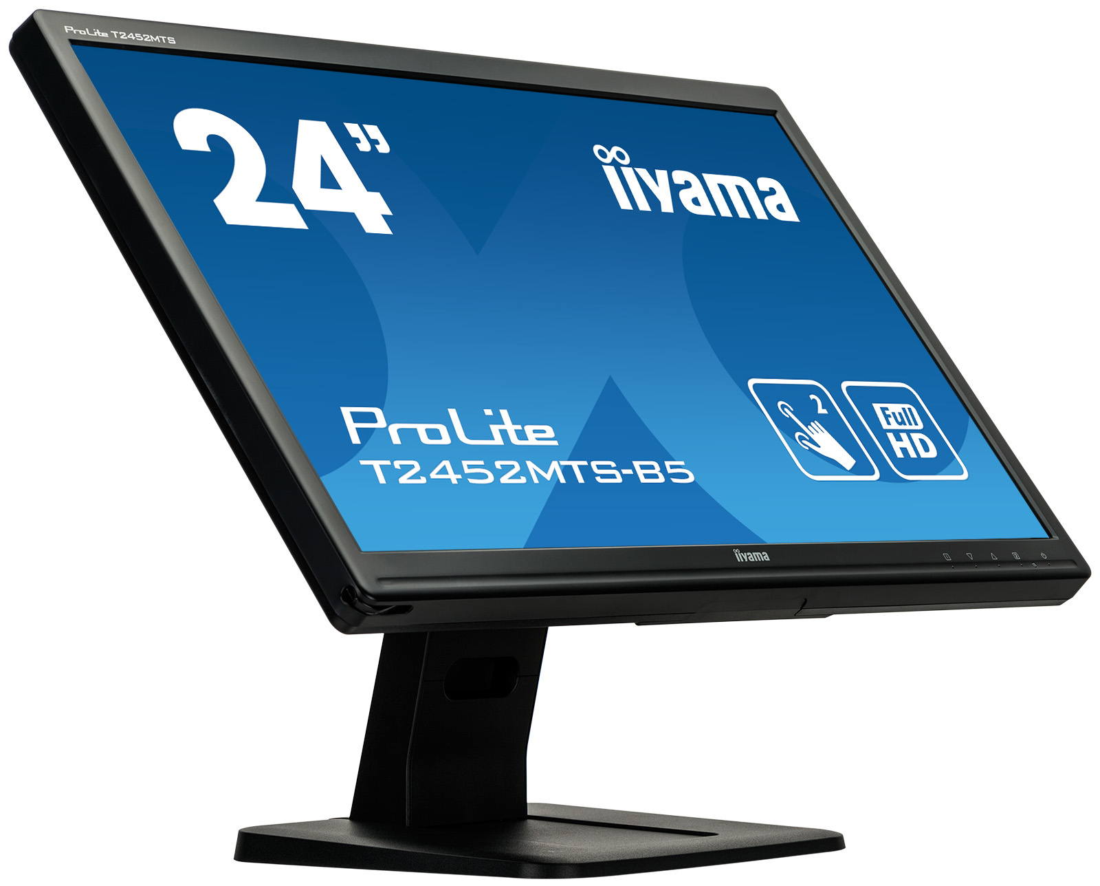 IIYAMA T2452MTS-B5 ProLite MON 24in TN LED Dual Touch 1920x1080 2ms Speakers HDMI VGA DVI