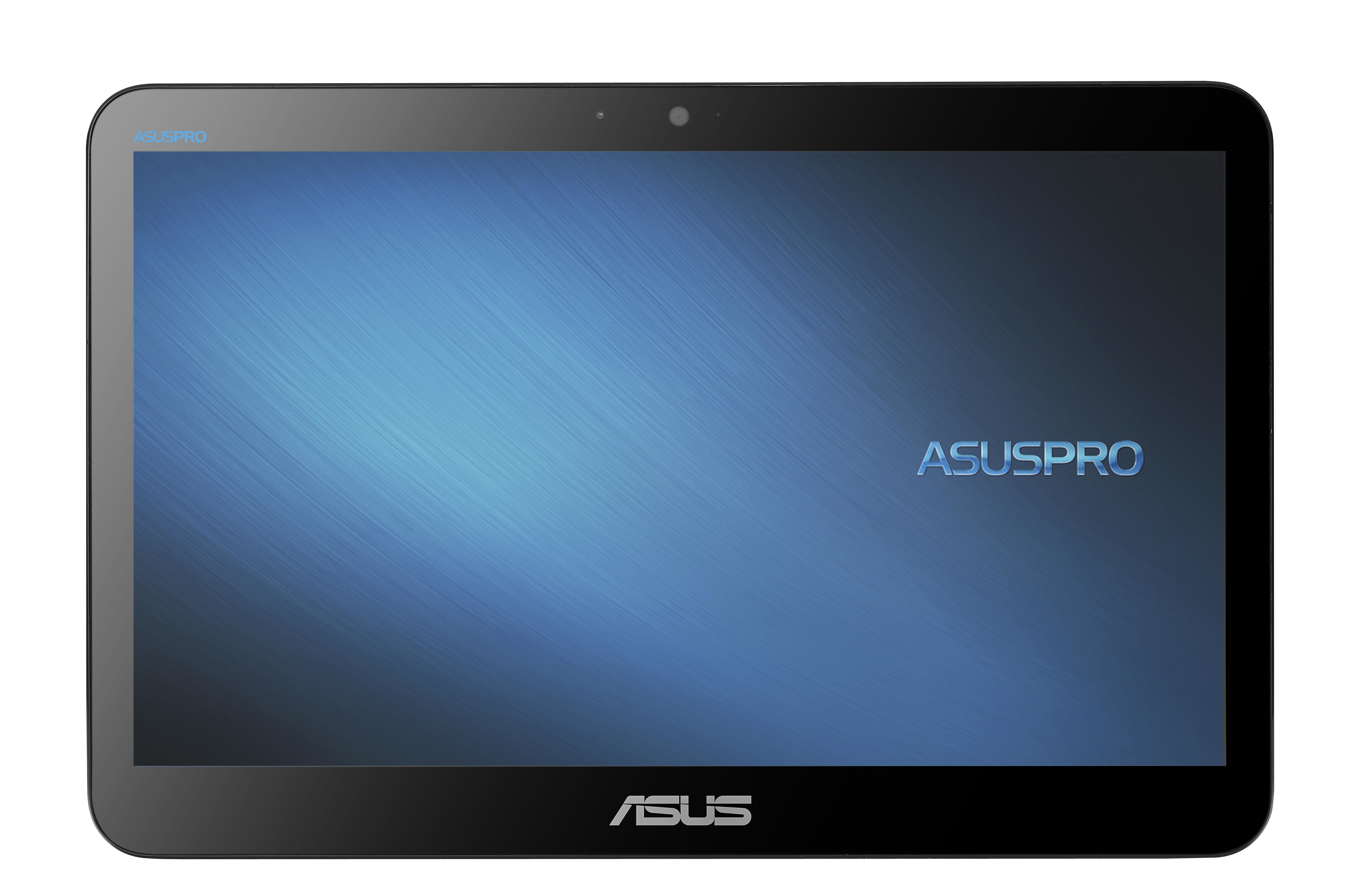 ASUS EeeTOP A4110-BD215X Celeron N3150 39,6cm non-glare 15,6Zoll LCD Touch 4096MB 500GBHDD  Win10Home IntelHD Bluetooth noWebcam