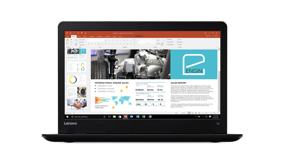 LENOVO ThinkPad 13 i5-7200U 33,8cm 13,3Zoll FHD 8GB DDR4 256GB M.2 Opal-SSD W10P64 IntelHD 620 FPR Cam -black- Topseller