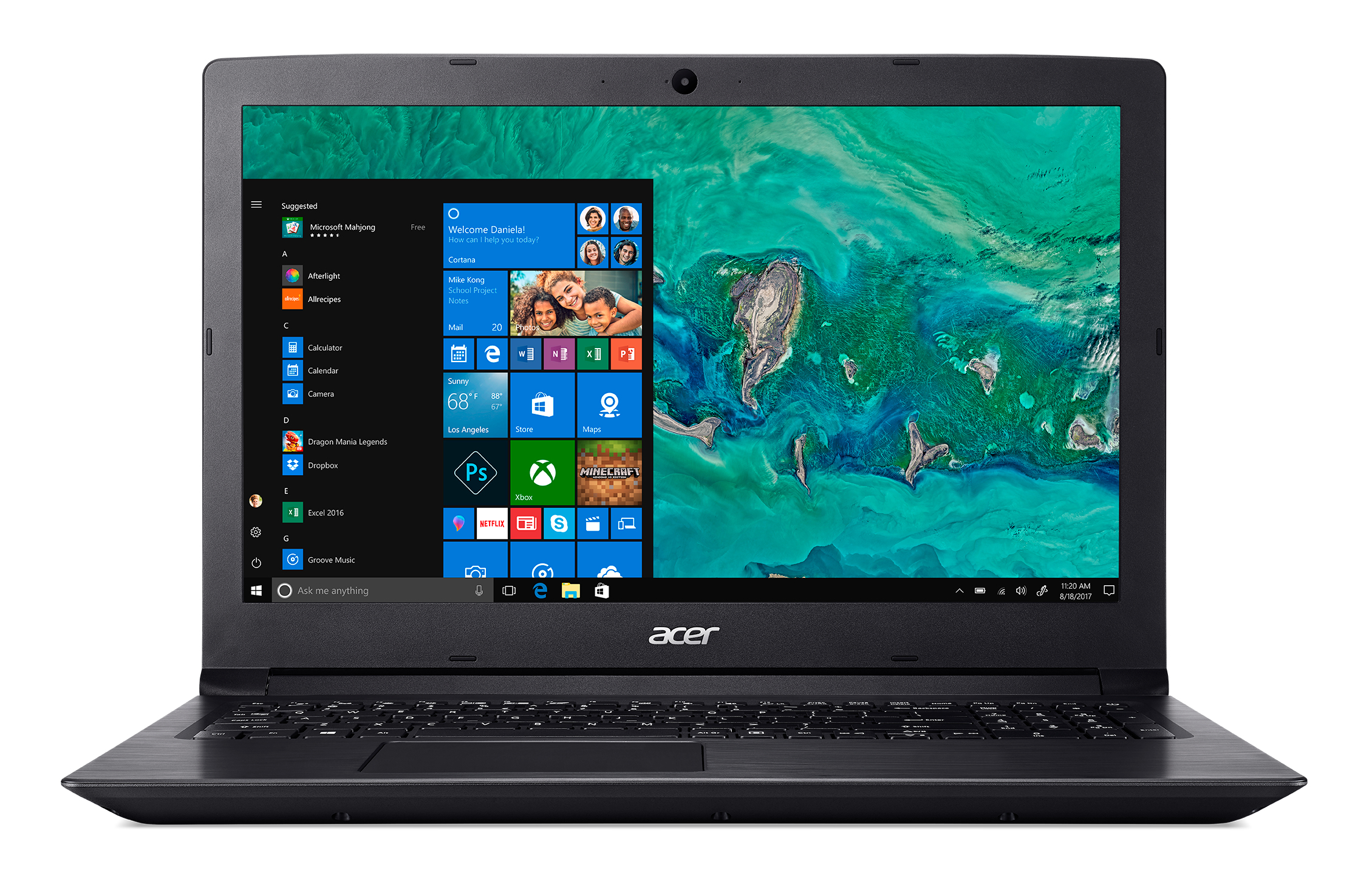 Acer Aspire 3 A315-41G-R696, 15.6inch FHD ComfyView LED, AMD Ryzen 5 2500U, 8GB, 256GB SSD +1TB, AMD Radeon 530X ,WLAN ac/b/g/n +BT, Win10Home, QWERTY