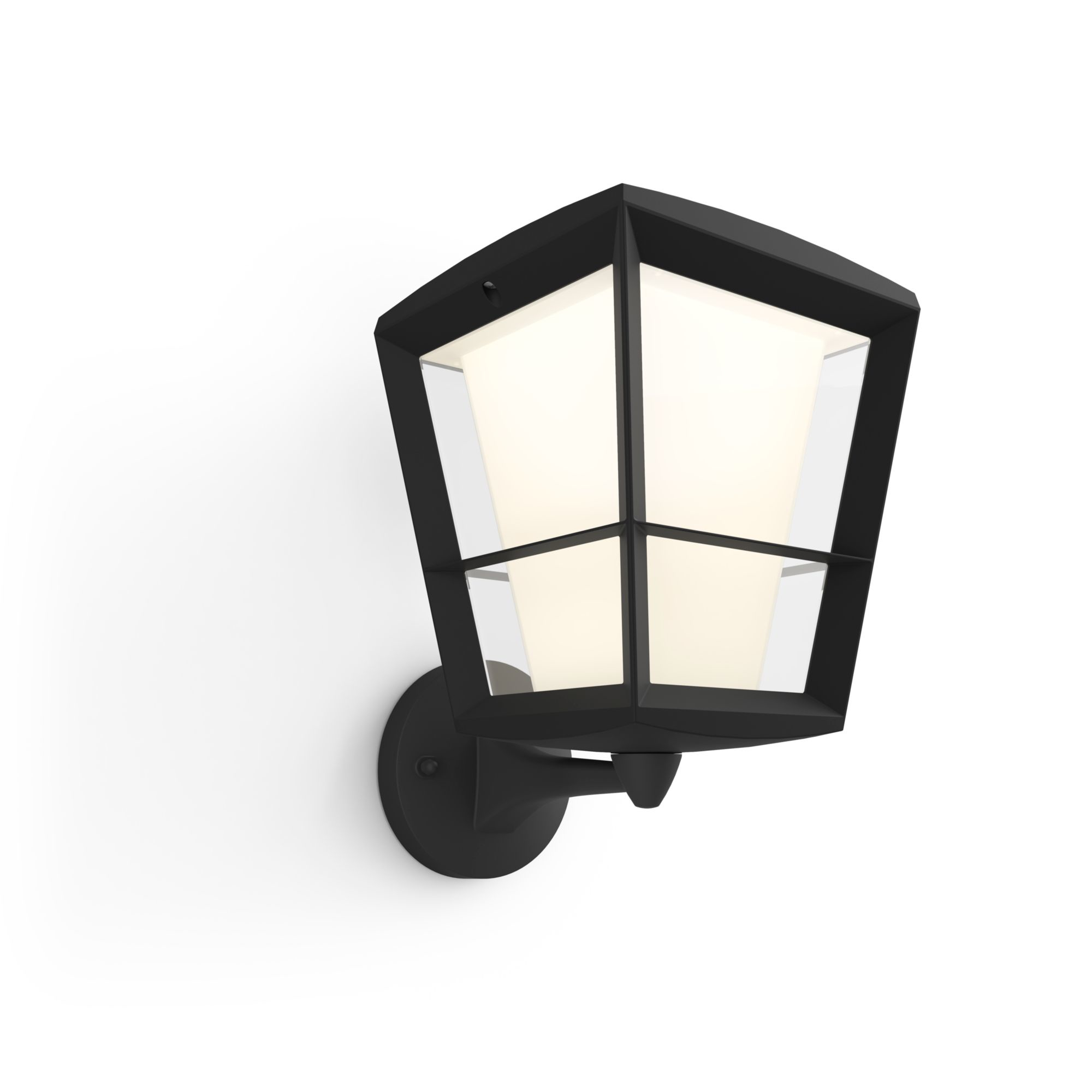 Philips Hue Econic LED Wandleuchte stehend schwarz