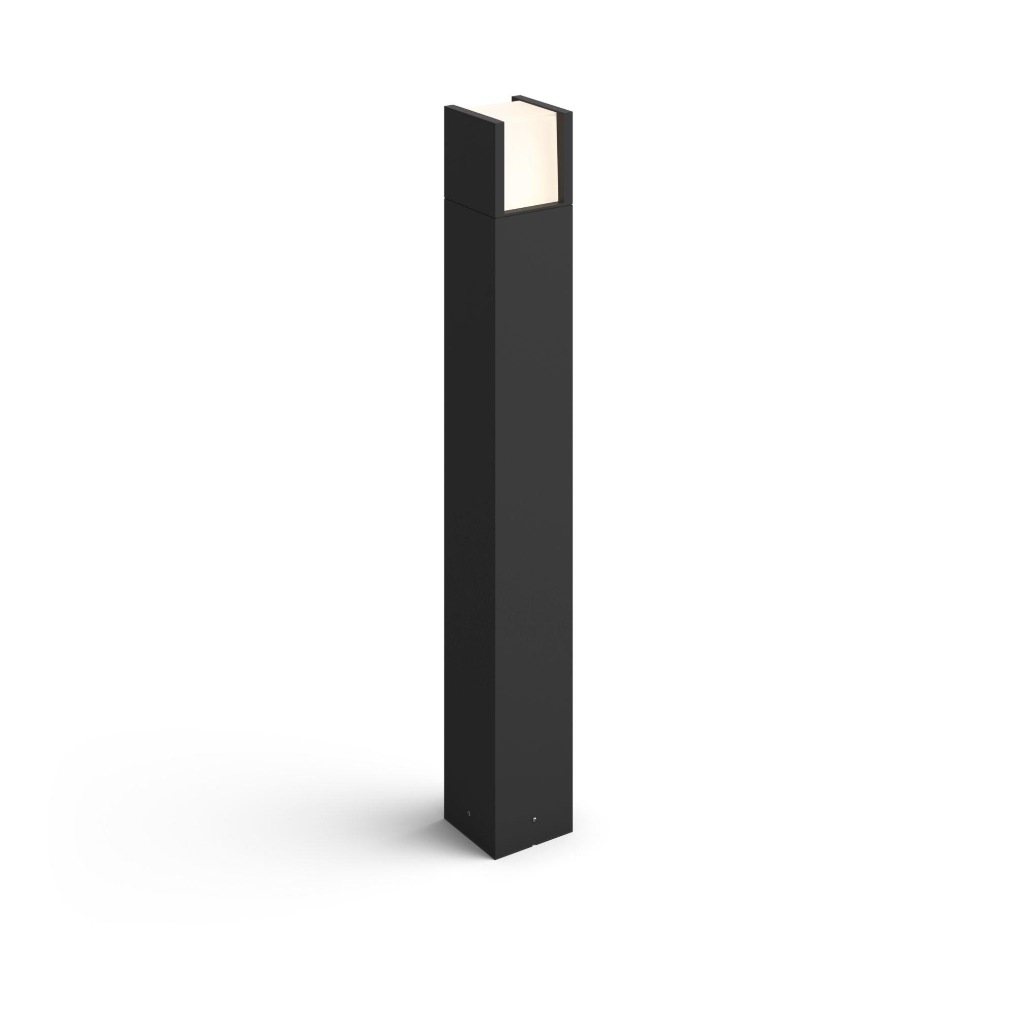 Philips Hue Fuzo LED Wegleuchte schwarz