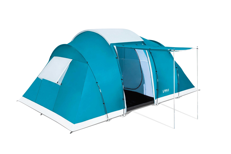 Specs Bestway Pavillo Campbase X6 Tent Dome 6 persons