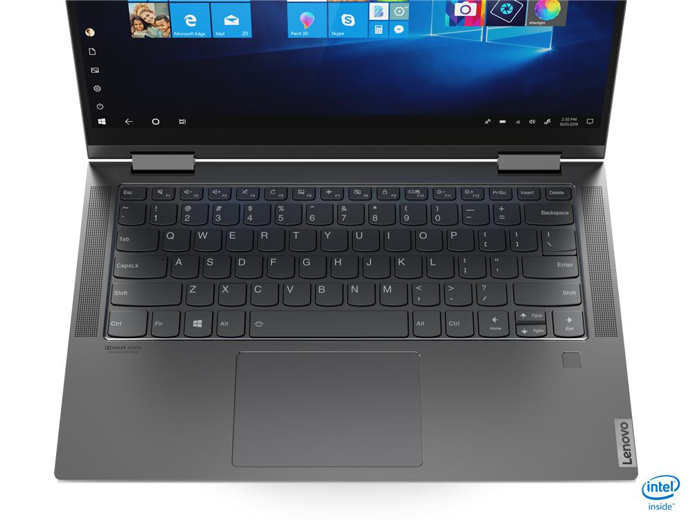 Ноутбук Lenovo Yoga C740 Серый Гибрид (2-в-1)