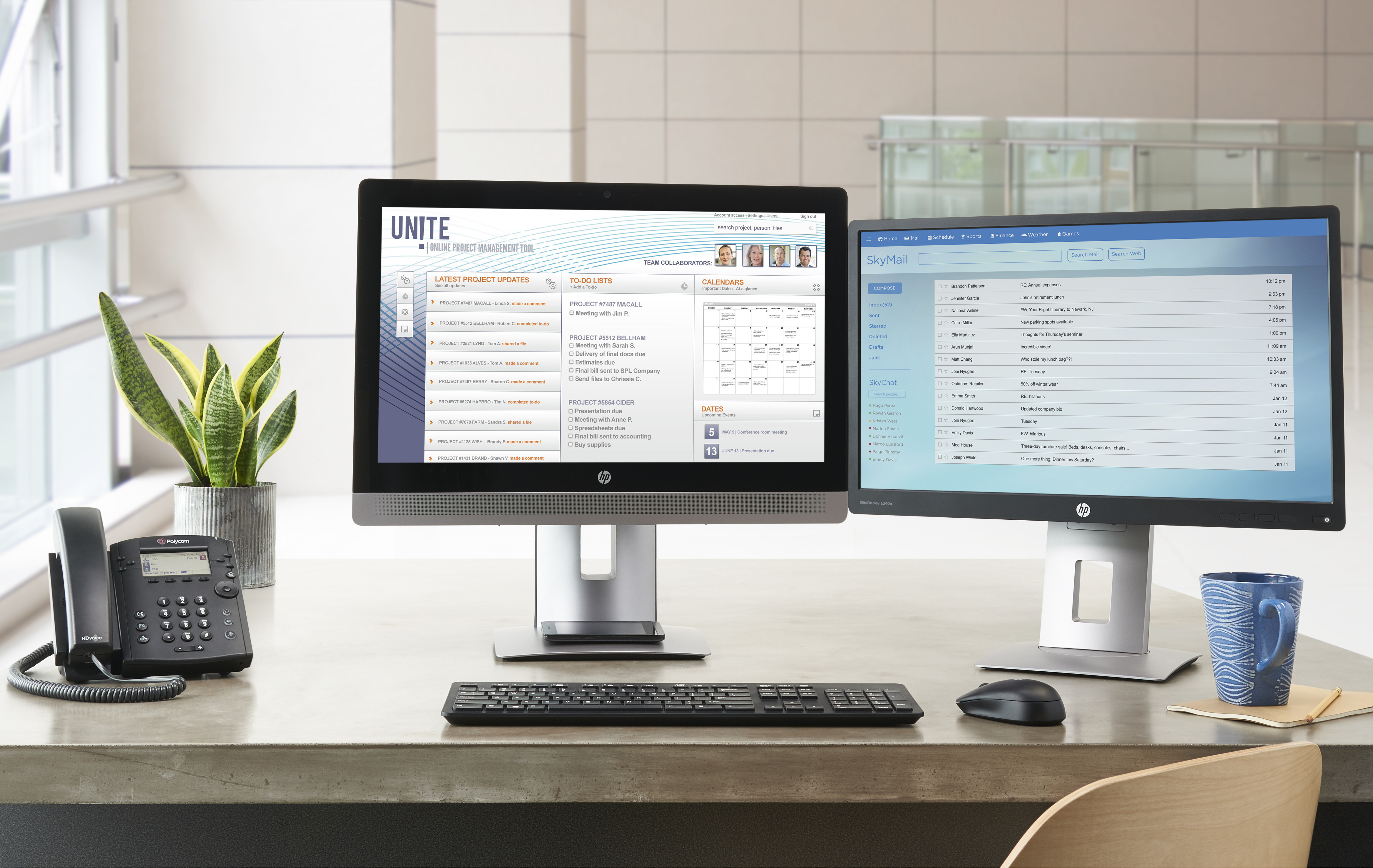 HP EliteDisplay E242 60,9cm 24Zoll IPS LED Backlight 7ms 16:10 1920x1200 250cd/m2 VGA DP HDMI Pivot Hoehenv.