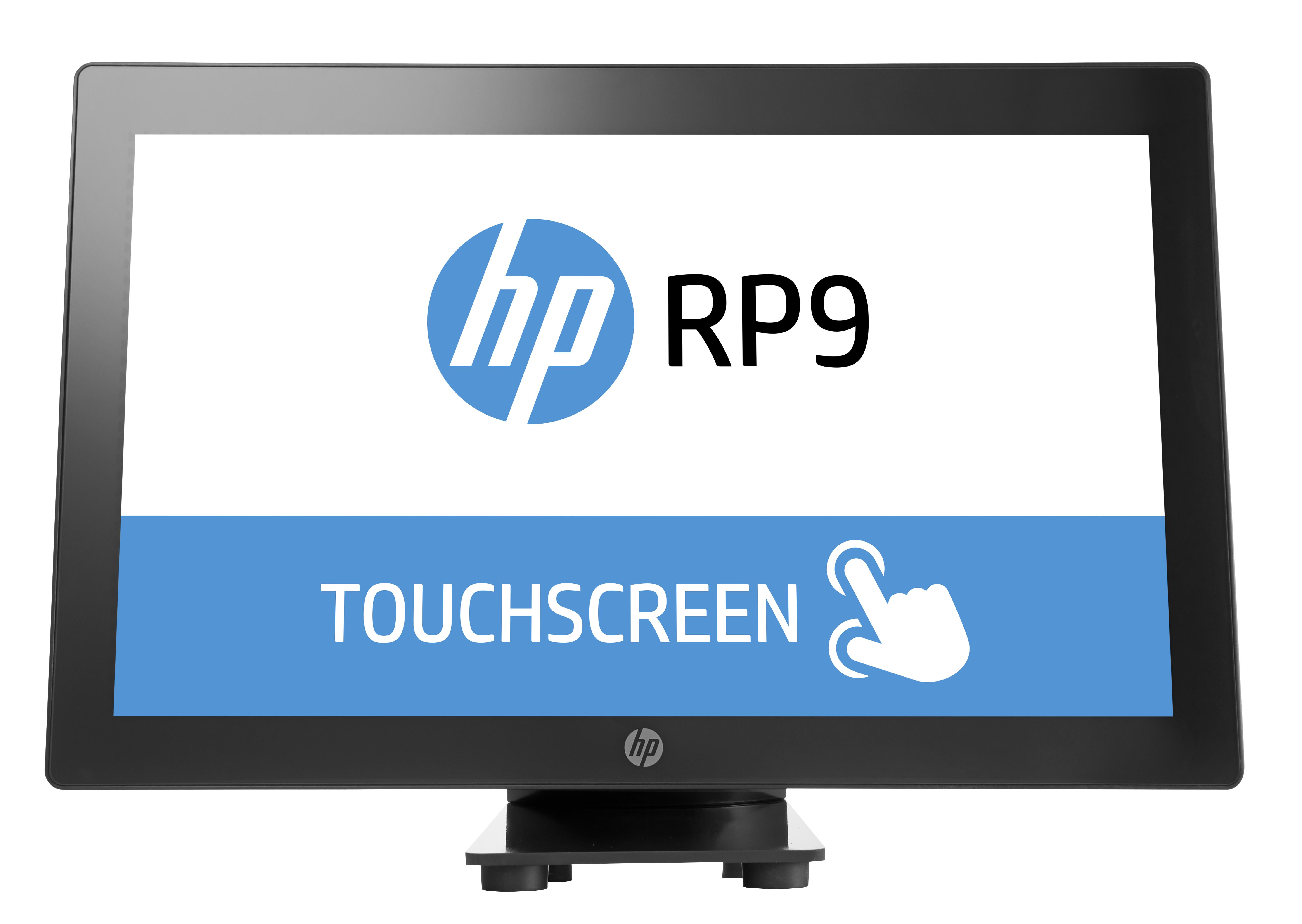HP rp9 G1 38,10cm 15Zoll POS Intel Core i3-6100 4GB 128GB/SSD W10 Iot Ent 64bit 3J Gar. (DE)