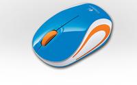 Logitech M187 RF Draadloos Optisch 1000DPI Ambidextrous Blauw muis