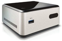 Intel NUC Forest Canyon DN2820FYKH0 DDR3L / LAN/ zilver