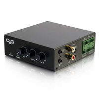 C2G 40881 Home Wired Black audio amplifier