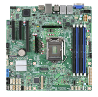 Intel DBS1200SPL Intel C236 LGA 1151 (Socket H4) Micro ATX server/workstation motherboard