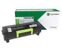 Lexmark 51B2000 Lasertoner Schwarz Lasertoner / Patrone